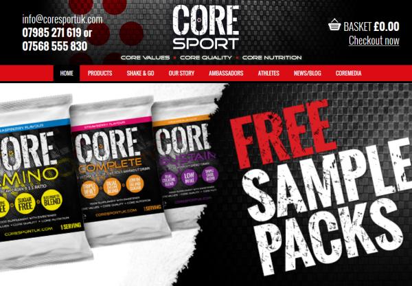 New Advertiser: CoreSport UK!