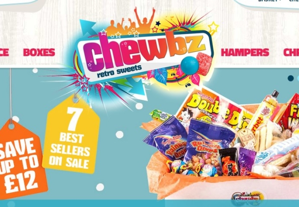 Christmas With Chewbz Retro Sweets