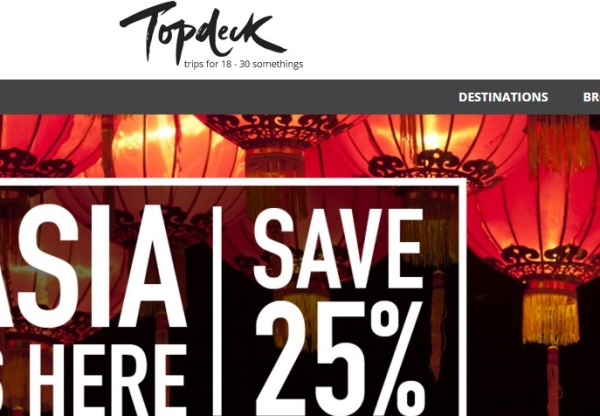 Topdeck: An amazing Christmas and New Year escape in Europe