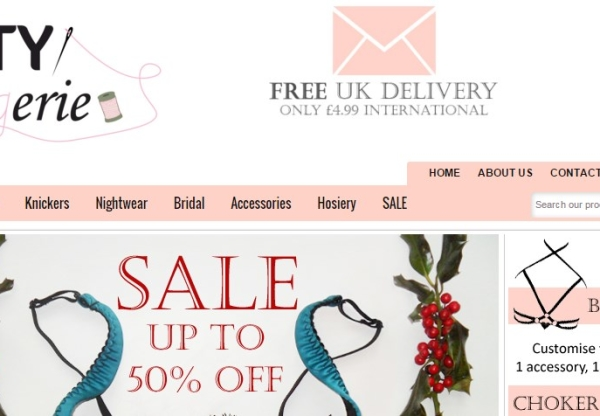 Esty Lingerie: January sale – up to half price