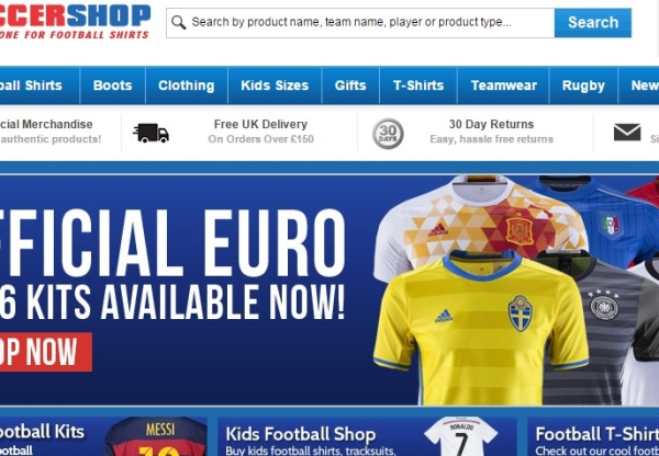 FREE Football Shirt Printing at UKSoccershop