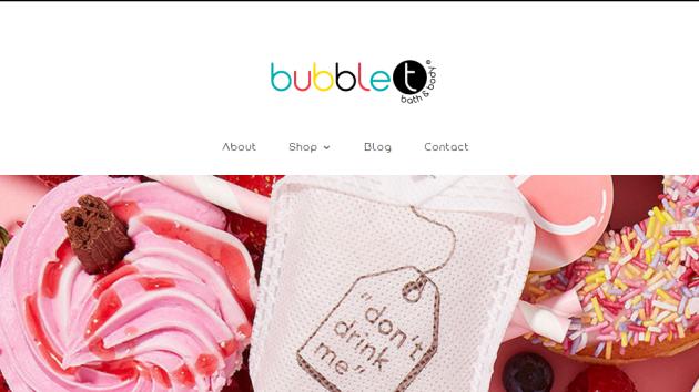 New Advertiser: Bubble T Cosmetics!
