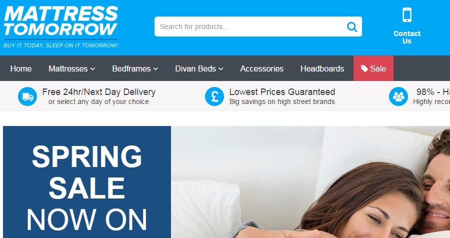 Promote Mattress Tomorrow with their voucher code and earn ...