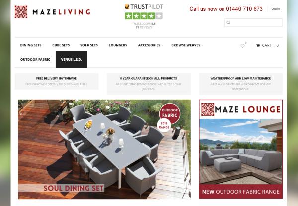 New Advertiser: Maze Living!