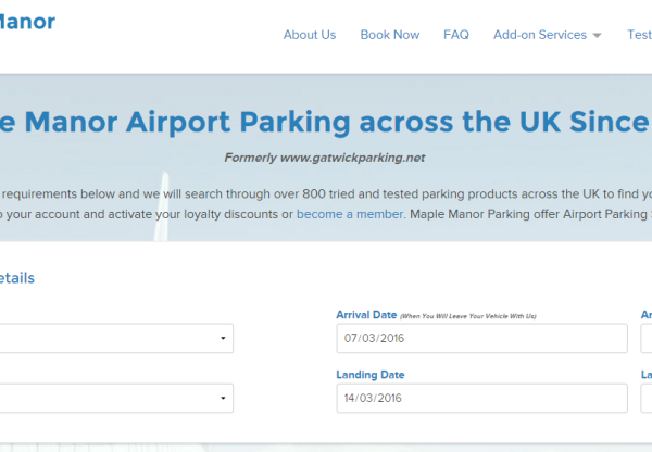 New Advertiser: Maple Manor Parking!