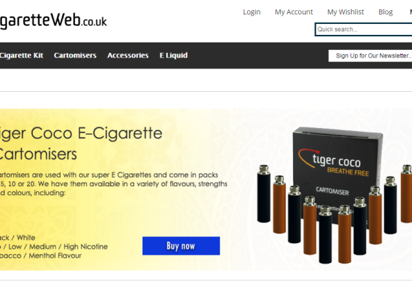 Affiliate Future: New Vouchercodes from Ecigarette Web!