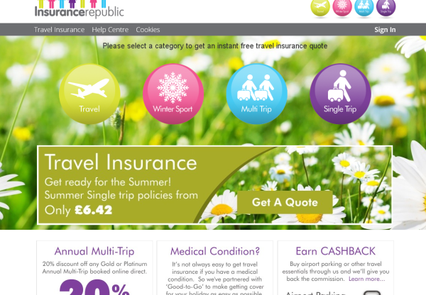 New Advertiser: Insurance Republic!