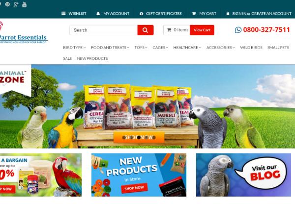 Parrot Essentials New Offer!