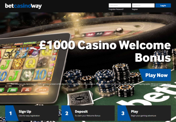 New Advertiser Betway Casino!