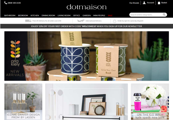 New Advertiser – Dotmaison!