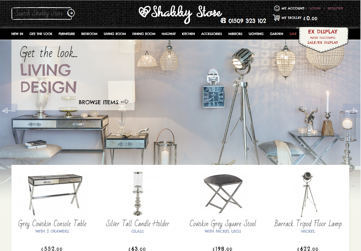 New Advertiser – Shabby Store