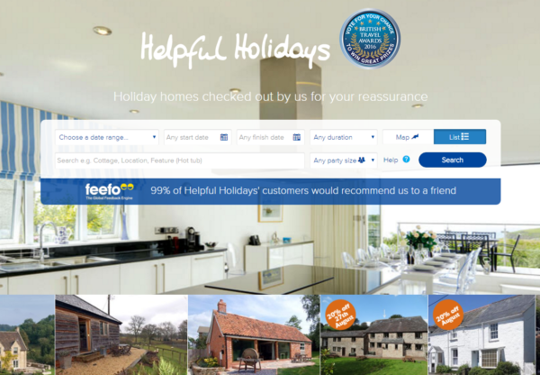 New voucher code from Helpful Holidays