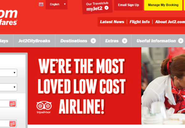 JET2.COM – THE MOST LOVED LOW COST AIRLINE