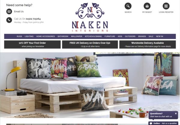 New Advertiser – Naken!