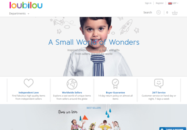 New Advertiser – Loubilou!
