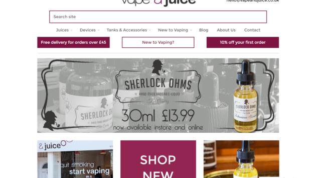 New Advertiser  – Vape and Juice!