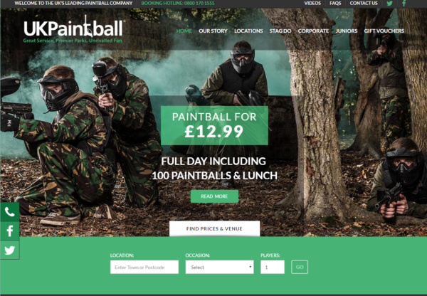 UK Paintball New Offers!