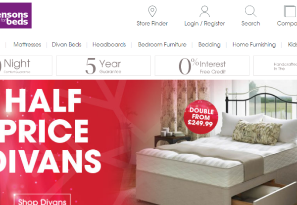 Bensons for Beds Winter Sale – affiliate programme info