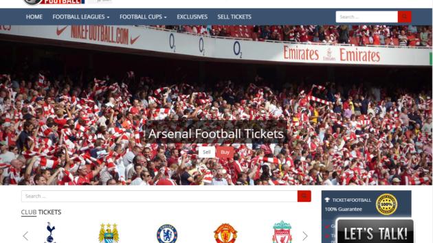 New Advertiser – Ticket 4 Football!