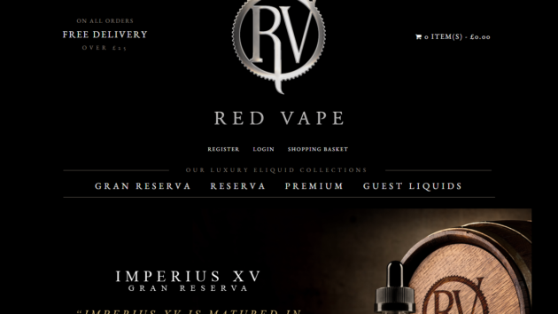 New Advertiser – Red Vape