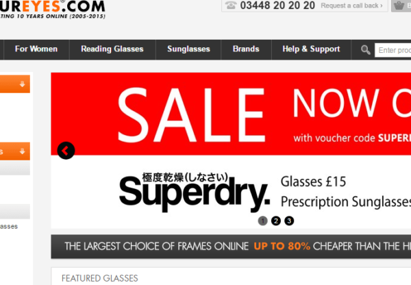 Final days for Superdry sale at Specky Four Eyes – glasses from £15