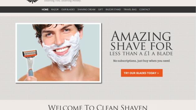 New Advertiser – Clean Shaven!