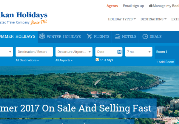 August voucher codes from Balkan Holidays
