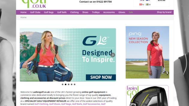 New Advertiser : Ladies Golf!