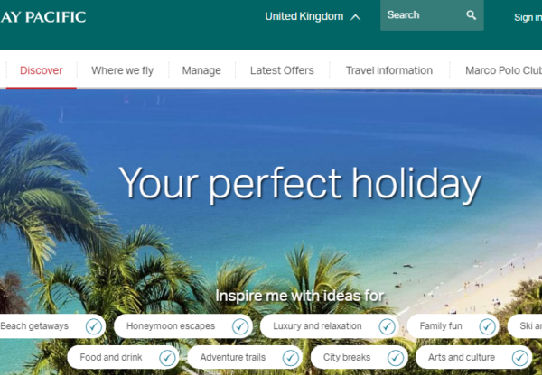 Cathay Pacific – Summer Sale is  here!