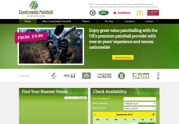 Countrywide Paintball is now live on Affiliate Future!