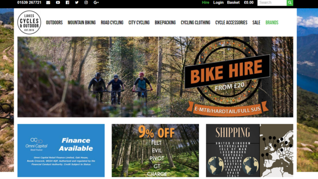 Lakes Cycles is now live on Affiliate Future!