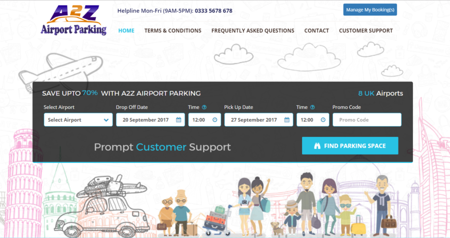 A2Z Airport Parking is now live on Affiliate Future!
