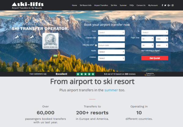 Ski-Lifts are now live on Affiliate Future!