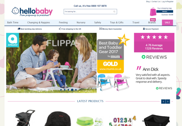 New Advertiser – Hello Baby Direct!
