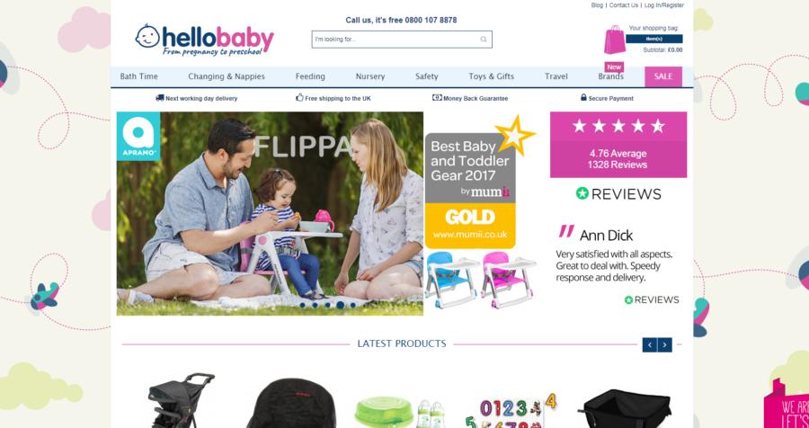 New Advertiser – Hello Baby Direct!