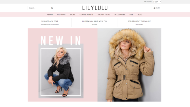 Lily Lulu Fashion are now live on Affiliate Future!