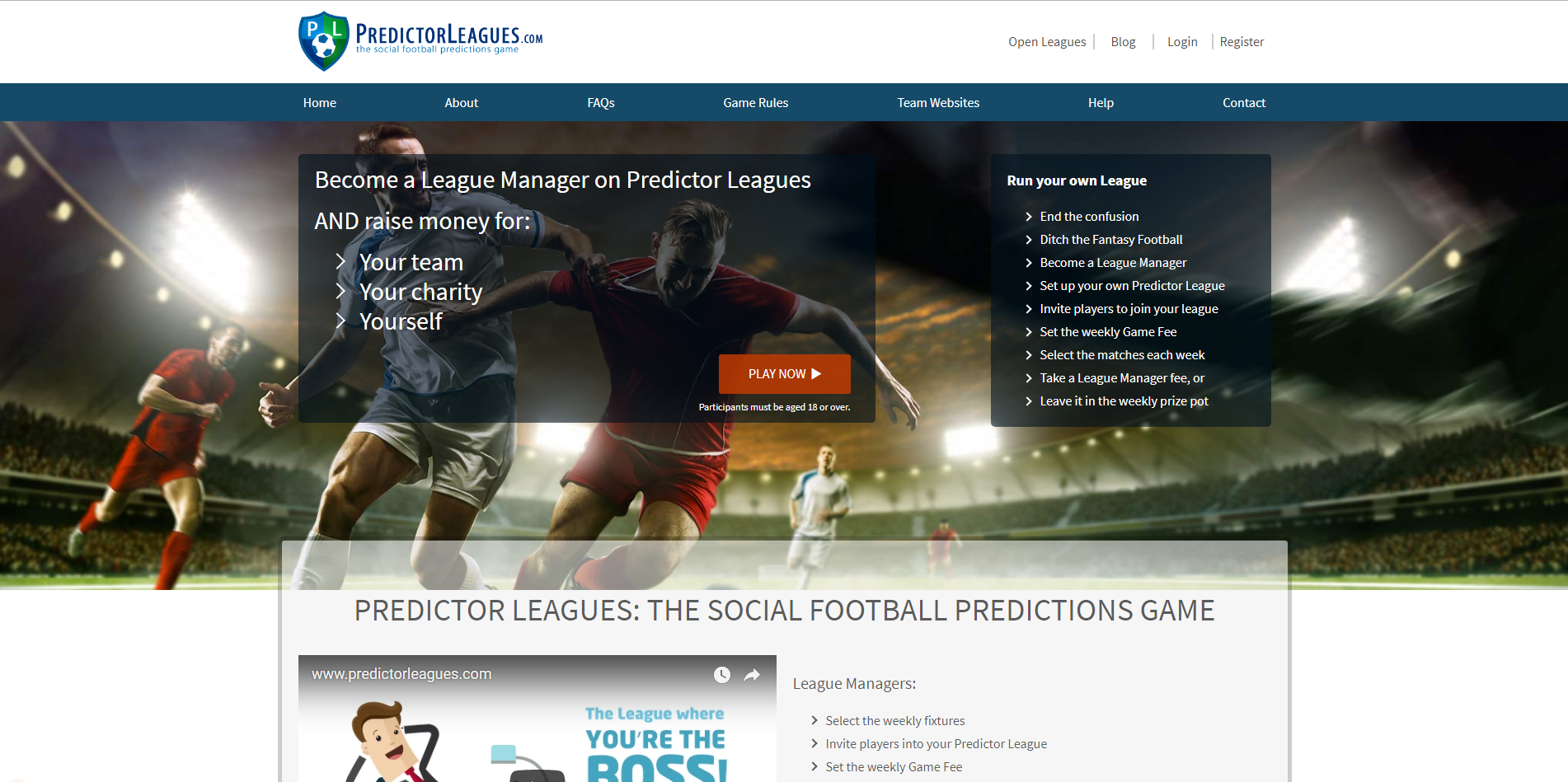 Predictor Leagues Are Now Live On Affiliate Future