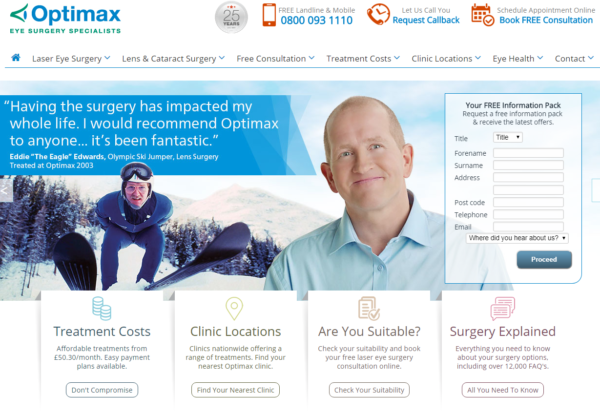 New Advertiser – Optimax!