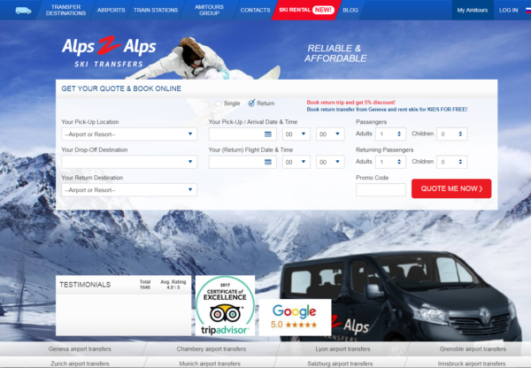 New Advertiser – Alps2Alps!