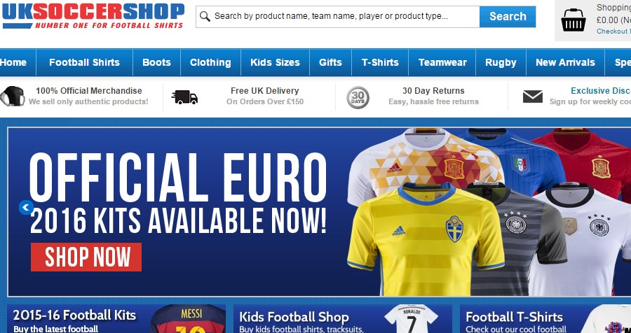 24b28d38549 FREE Football Shirt Printing at UKSoccershop - AffiliateFuture blog ...